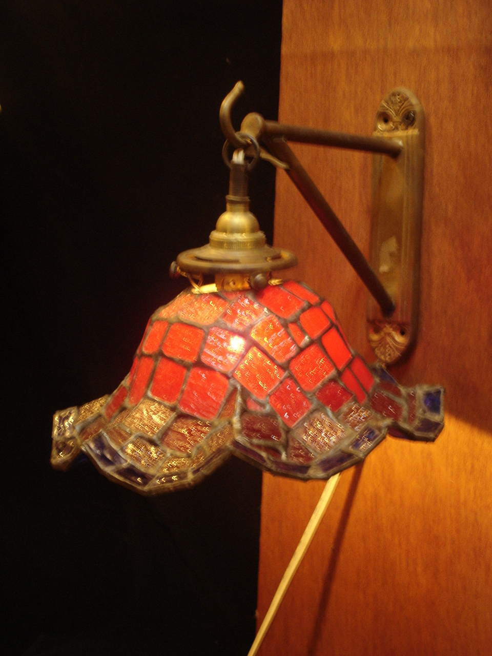 Stain glass wall lamp Item code NO.B27