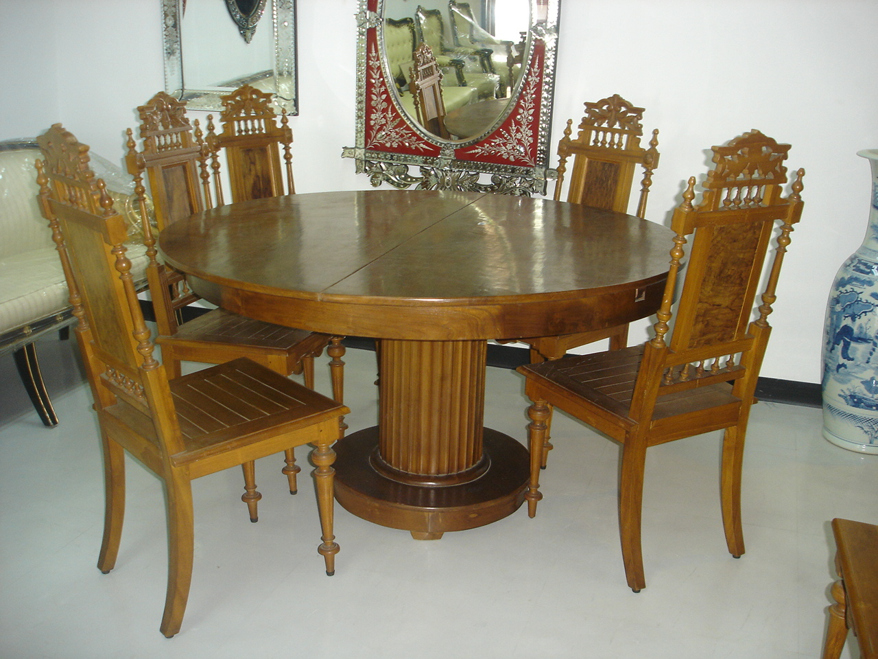 Dining set teak wood Item  Code DN01