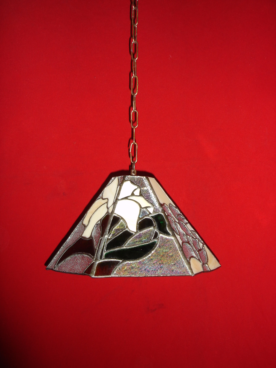 Tiffany Hanging Lamp Item codeB74 wide_11'' high_7'
