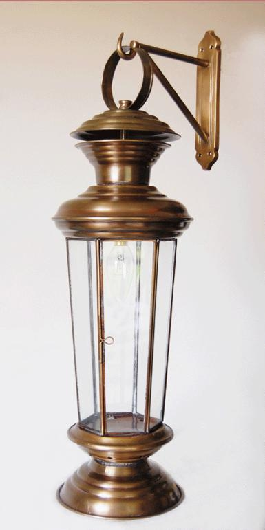 English Wall Lamp Code ELS13b high 22'' wide 7''