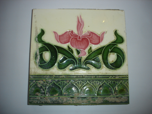 Antique Tile Item  code.TSM02 size  6 x 6''