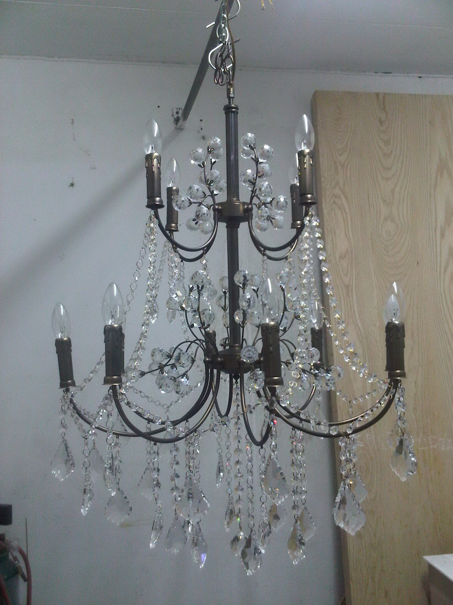 Chandelier Lamp Code 12 arm classic
