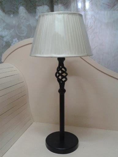 Table Lamp Code TBIR001 size 66 cm. high Base 17.7cm wide
