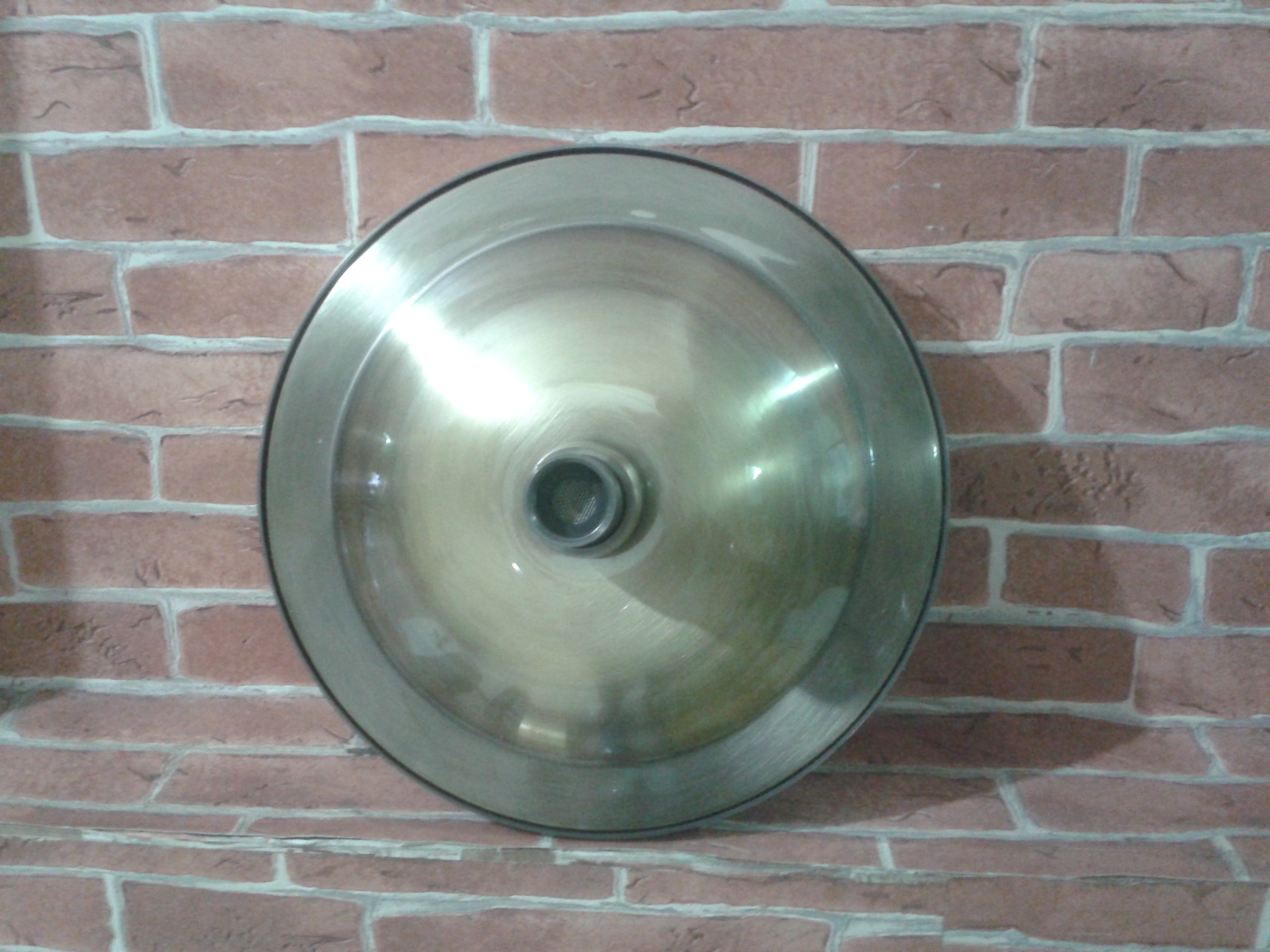 Brass shower code BSW001size wide 20 cm.