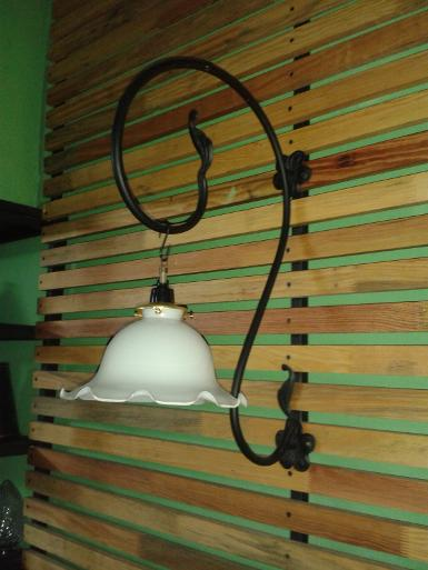 Wall Lamp Item code WL.100C size Bracket high 50 cm.