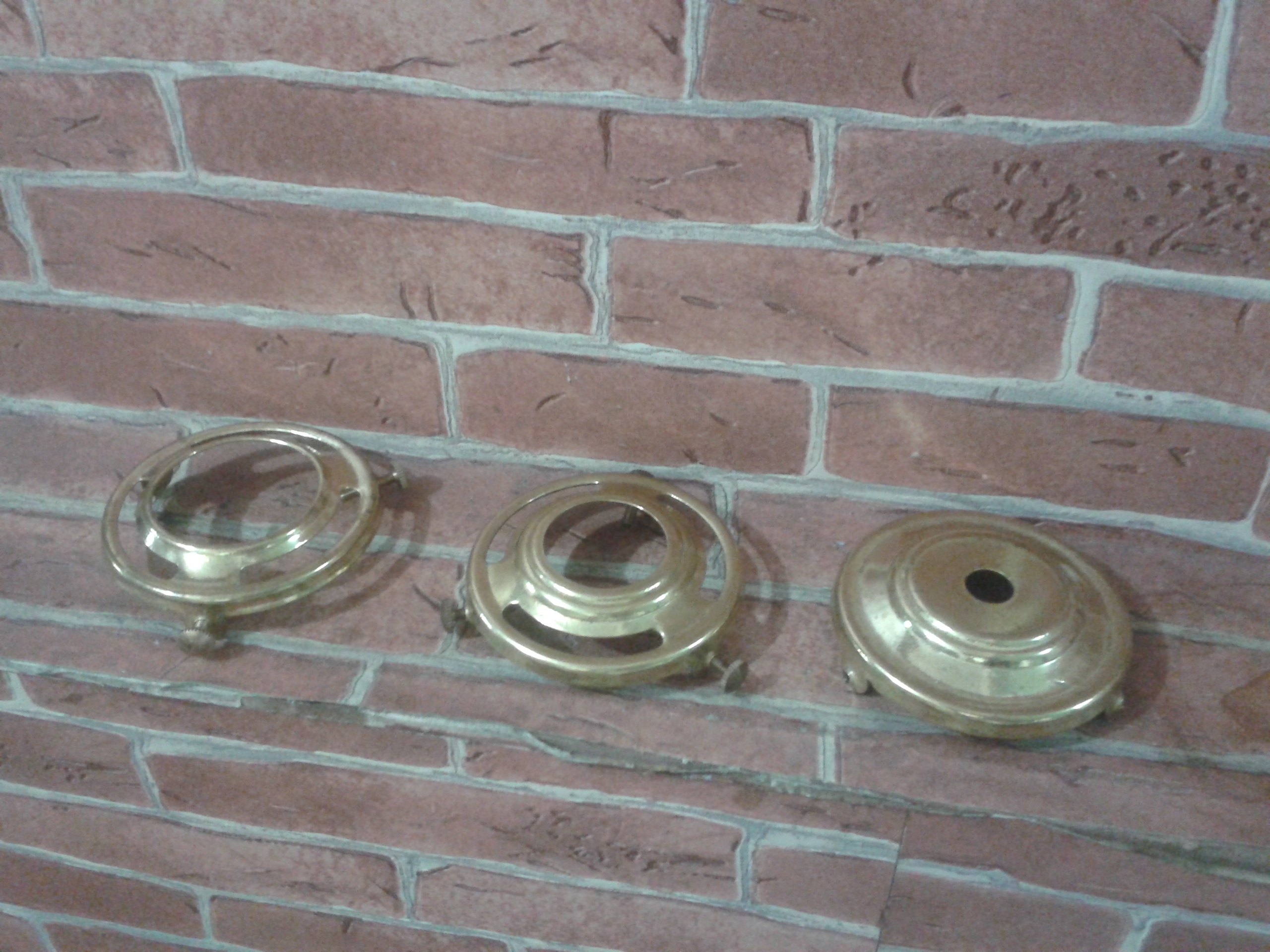 Pressed Brass Galleries size wide 64 mm
