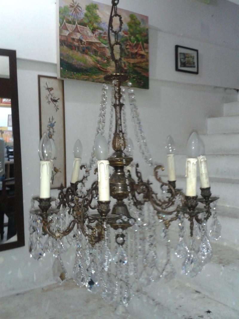 Chandelier Lamp,Antique Lamp from Italy