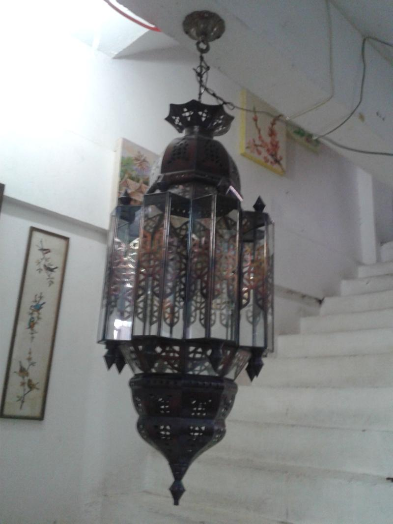 Morocco Hanging Lamp Item code MRL006A  size wide 30 cm. high 50 cm.