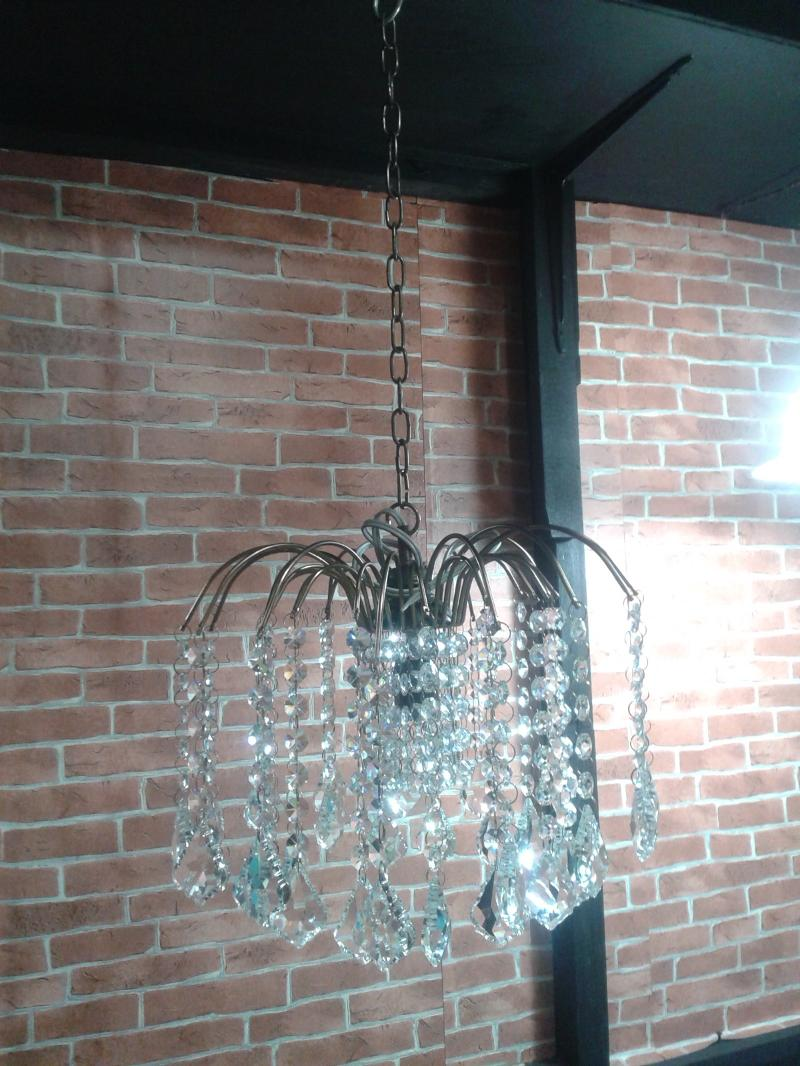 Chandelier Lamp Item code CDL001 size wide 30 cm.