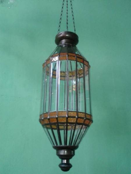 Morocco lamp style code MRL101 size 300 mm x h 600 mm.