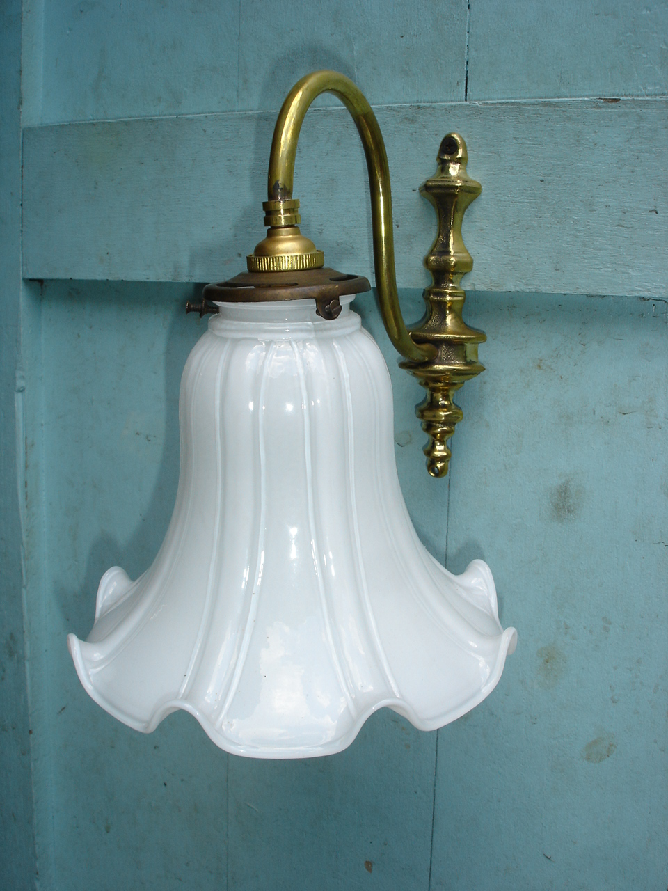 Wall Lamp JL01C size shade high 140 mm. wide 17.5 cm. top 56 mm.bracket 9 mm.deep 22 cm.