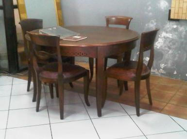 Dining set 01A  4 seat teak wood