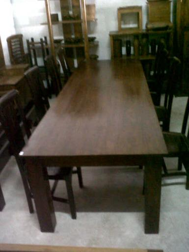 Dining set 10 seat teak wood