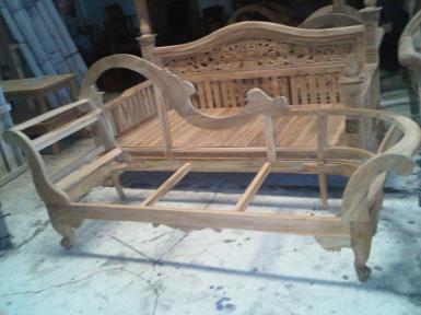 Day Bed Code.DB900A frame teak wood size 1.80m.x60cm.