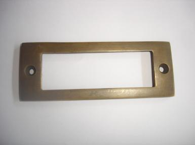 Brass Handle Code J.025 size L 80 mm. wide 30 mm.