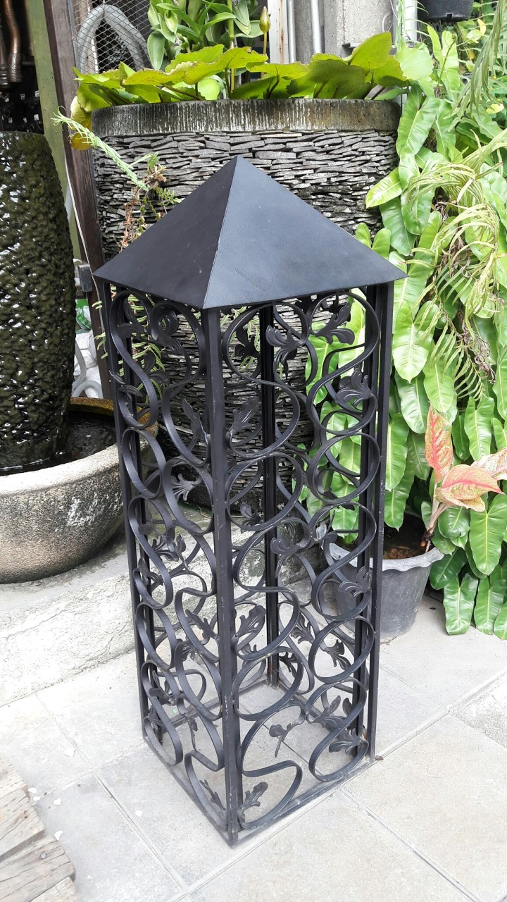 Iron Classic Lamp Item Code  IRL18MPE size high 104 cm.wide 30 cm.