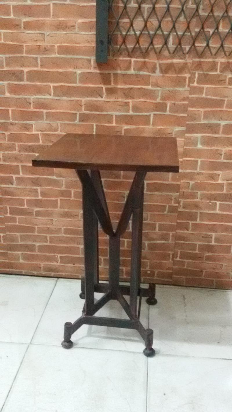 Iron chair with wood Item code IRC02. we make to order and make to design