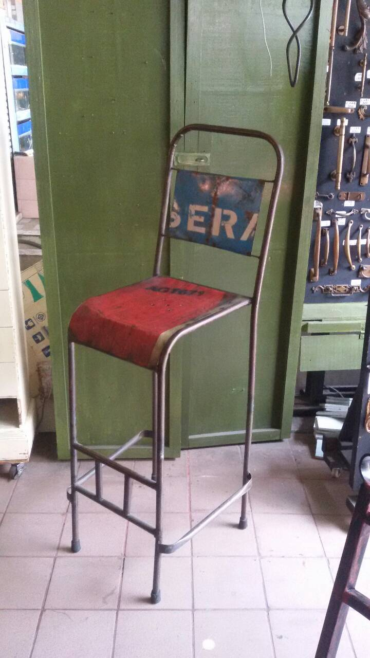 Bar chair we made to order and made to design Item code BCM001 size 34 x 40 x h 77 cm.