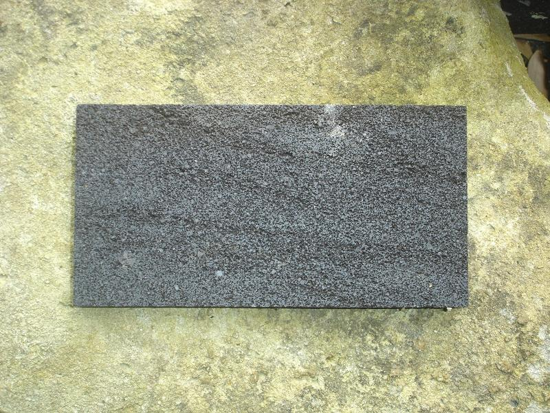 Lava Stone Smooth surface Item Code LAVA18A size 30 x 60 cm.