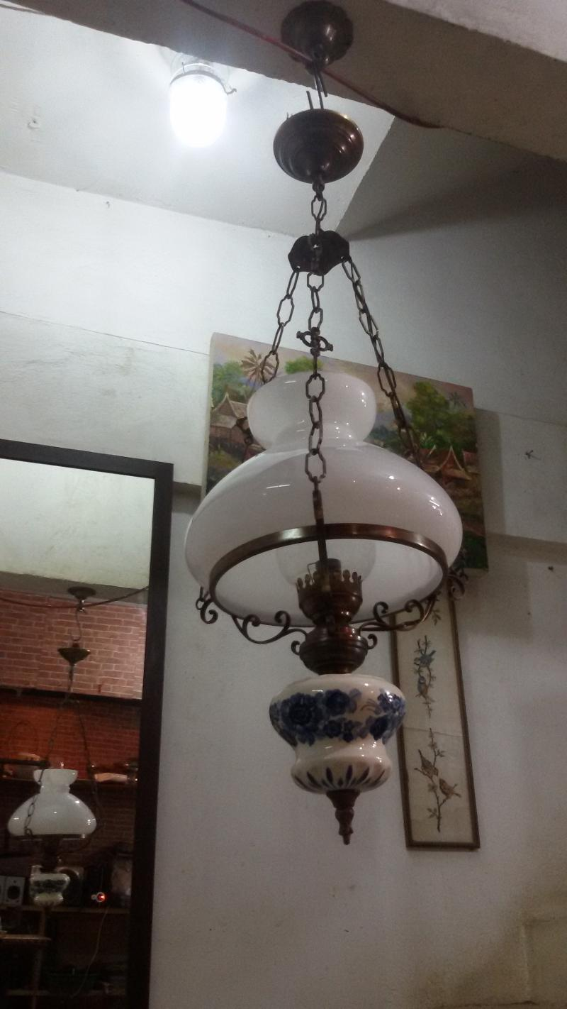 Ducth Hanging Lamp SOLD OUT Code DHL001 size 11''  long include chain 100 cm.