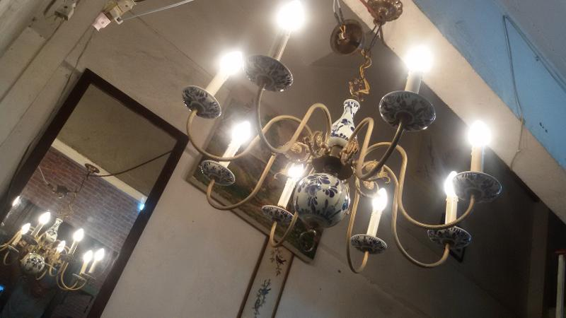 Antique Hanging Lamp code ATL008 size wide 80 cm.high 60 cm. can be longer
