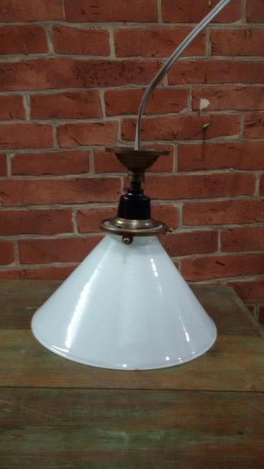 Pendent Lamp code PDL18A size shade 7'' base 56 mm. high 20 cm.
