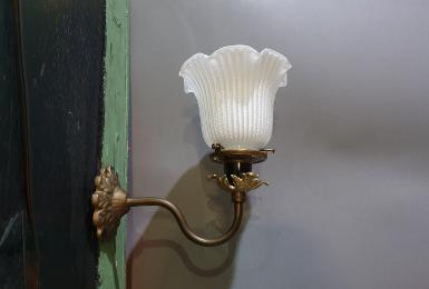 Brass Wall Lamp Item Code WLC019 size base 83 mm.deep 180 mm.pipe 9 mm.