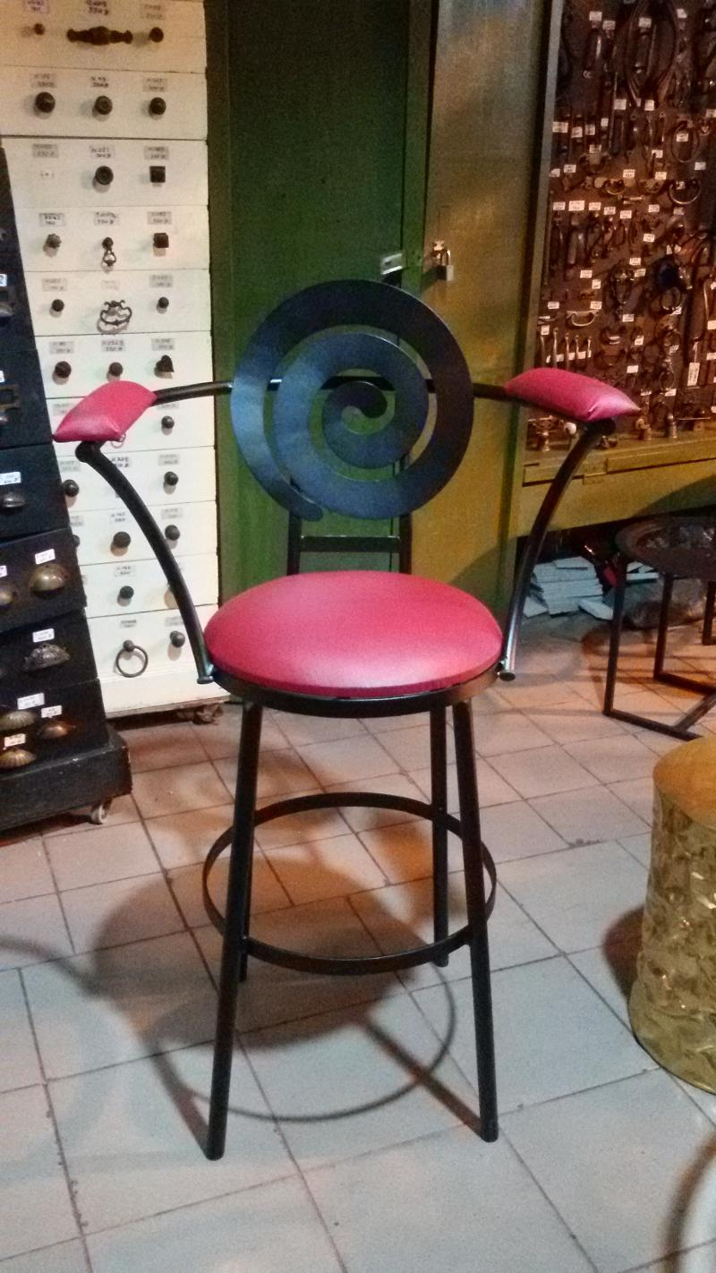 ฺIron Bar chair Item code BC01C